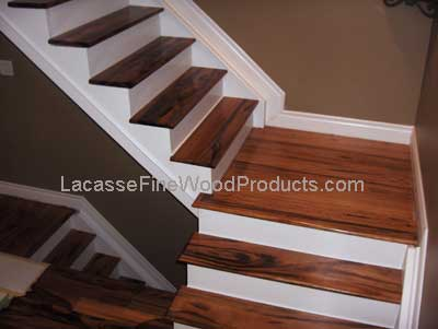 tigerwood stair treads