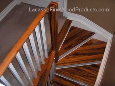 tigerwood steps