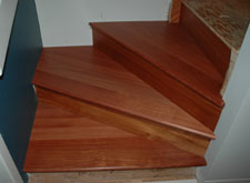 santos mahogany pie shaped treads, Calgary Alberta