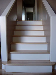 birch hardwood steps alberta